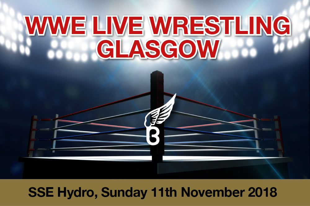WWE Live 2018 at the SSE Hydro