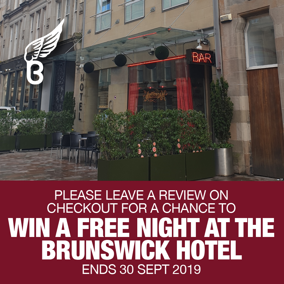 Win A FREE Stay at the Brunswick Hotel
