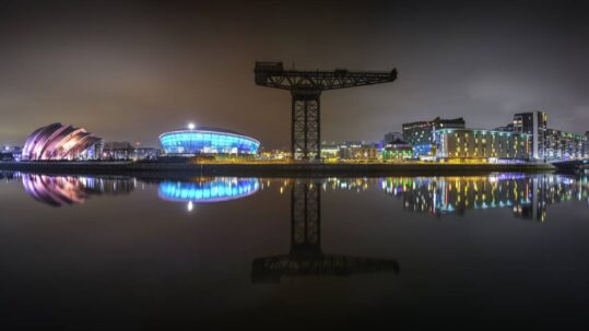 Why IS Merchant City the go to place in Glasgow City?
